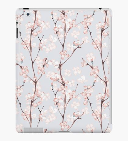 Blossom. Watercolor seamless floral pattern iPad Case/Skin