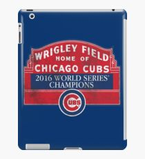 Cubs 2016 World Series Champions iPad Case/Skin