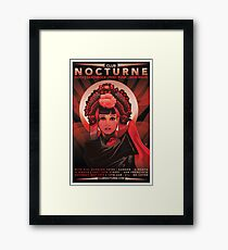 Poster for Nocturne | Anna May Wong Framed Print