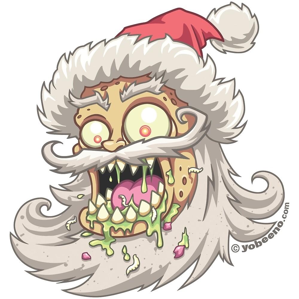 Psycho Santa by yobeeno