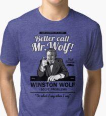 Better call Mr. Wolf Tri-blend T-Shirt