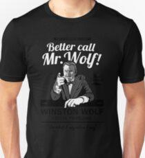 Better call Mr. Wolf Unisex T-Shirt