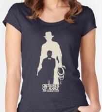 Obtainer of Rare Antiquities (light) Women's Fitted Scoop T-Shirt