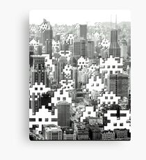 Space Invaders ! Canvas Print