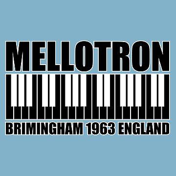 Mellotron  Brimingham 1963 England Black by matanga