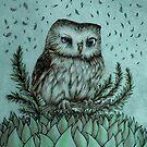 Little Owl by Ma. Luisa Gonzaga