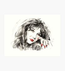 The eclectic and experimental Kate Bush Art Print