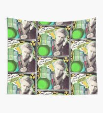 Popular Science: M. Curie (English) Wall Tapestry