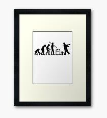 Zombie Evolution II Framed Print