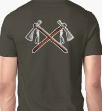Tomahawk, Hawk, War, Axe, Weapon, Tool, Crossed, Native Americans Unisex T-Shirt
