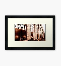 Cologne, old Railroad Buildings Framed Print