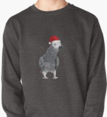 African Grey Parrot - Merry Christmas! Pullover