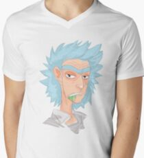 Rick Men's V-Neck T-Shirt