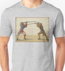 """Mair """"Der zwirchhaw vonn baiden seiten"""" Unisex T-Shirt"""
