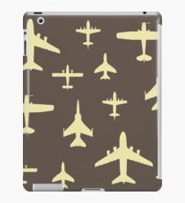Airplane Pilot Fly Past Captain Overhead iPad Case/Skin