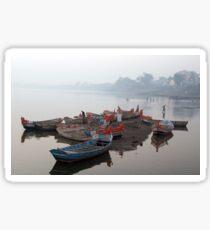 On The Banks Of Chandrabhaga River Sticker