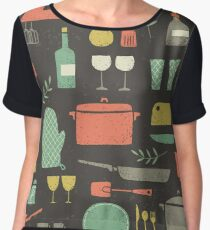 Love Your Kitchen. Retro Edition Chiffon Top