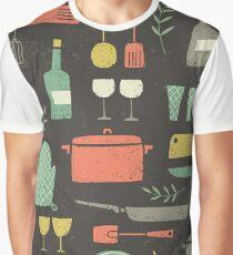 Love Your Kitchen. Retro Edition Graphic T-Shirt