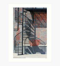 Sculptural Architecture 3 Art Print
