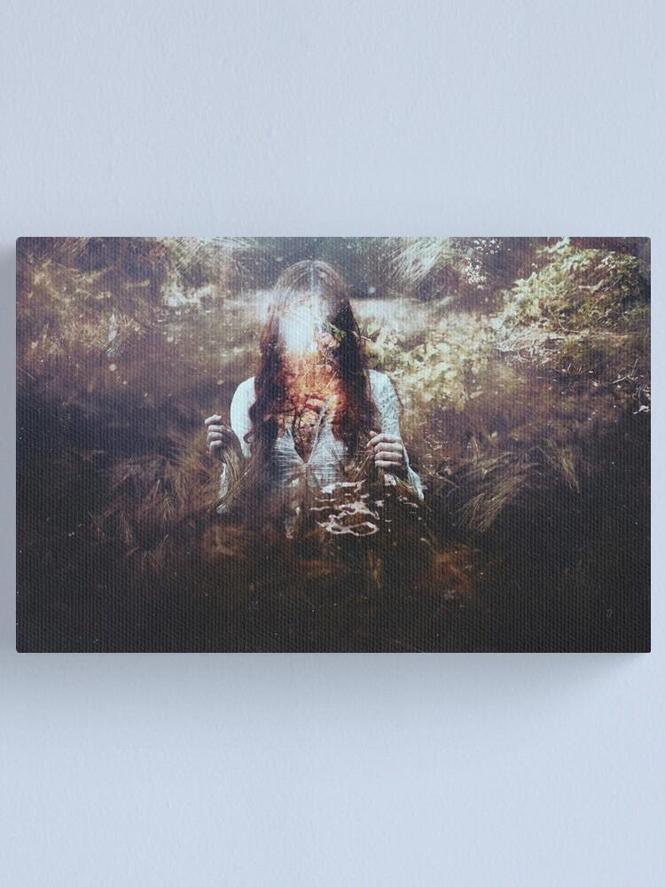 Alternate view of Esprit Noyé Canvas Print