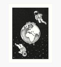 Explorers.  Art Print