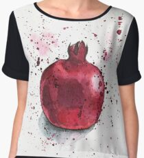 Pomegranate Women's Chiffon Top