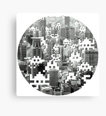 Space Invaders! Canvas Print