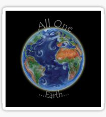 All One Earth Sticker