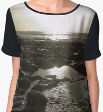 Pembrokeshire Sunset with flare! Chiffon Top