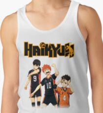 Haikyuu - Tobio, Hinata and Nishinoya Tank Top