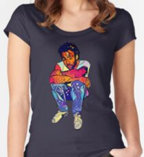 Candid Gambino Women's Fitted Scoop T-Shirt