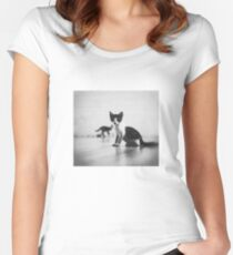 Cats Women's Fitted Scoop T-Shirt