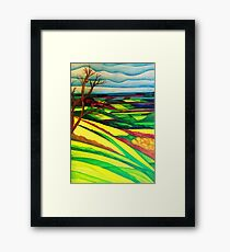 The Country Framed Print