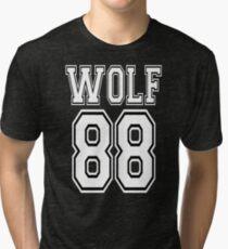 ♥♫I Love KPop-Awesome EXO WOLF 88♪♥ Tri-blend T-Shirt
