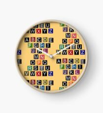 Easy AlphaBet Clock
