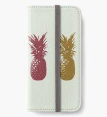 Pineapples iPhone Wallet/Case/Skin