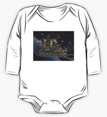 Space Cat Train Kids Clothes