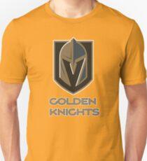 A Golden Vegas Sports Shirt Knight Emblem Tshirt T-Shirt
