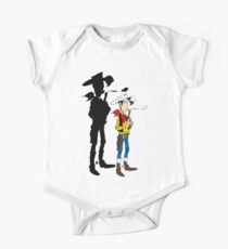 Lucky Luke Shadow One Piece - Short Sleeve