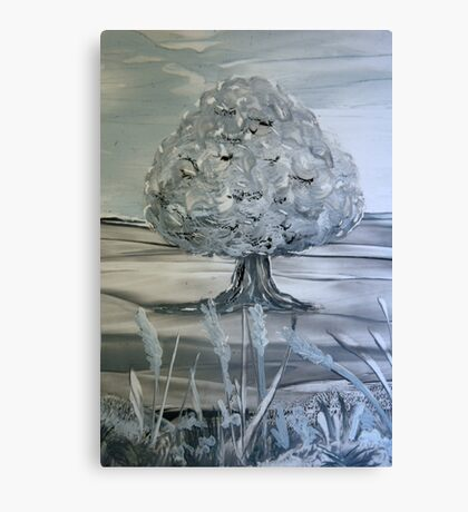 First repose of Winter Canvas Print