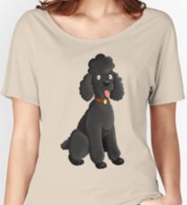 Cartoon Poodle Women's Relaxed Fit T-Shirt