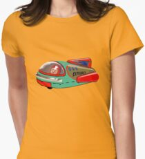 Explorer Space Rocket! Women's Fitted T-Shirt