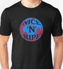 NICE 'N' RIPE BLUE/RED T-Shirt