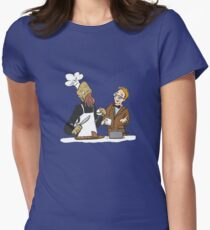 Ood Eats Women's Fitted T-Shirt