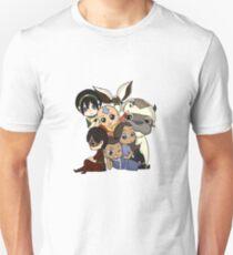 Chibi Avatar Gaang  T-Shirt