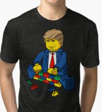 Trump Build A Wall Tri-blend T-Shirt