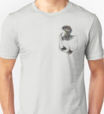 Camiseta unisex Protector de bolsillo - Azul