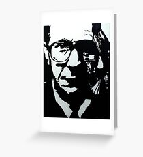 Tinker Tailor Soldier Spy (Gary Oldman) Greeting Card