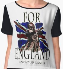 FOR ENGLAND and our lands Chiffon Top