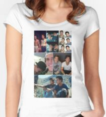 Dolan twins collage 3 Women's Fitted Scoop T-Shirt